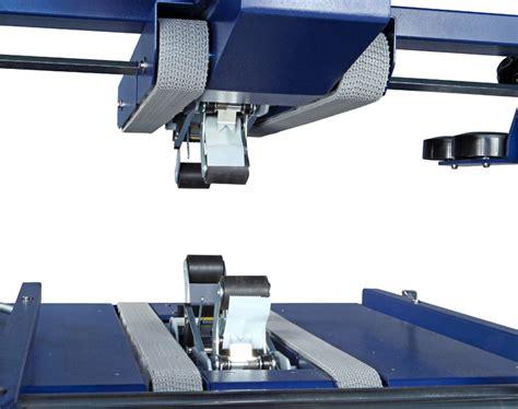 semi automatic fixed format boxes taping machines robotape  tbde robopac uk