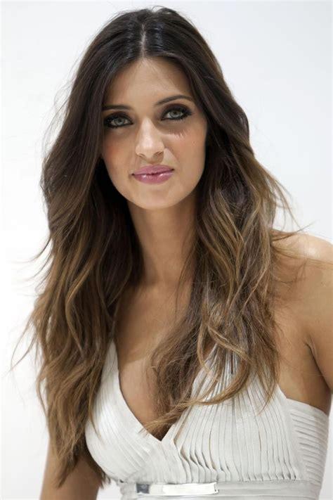 dark brown hair with light brown ombre dark brown to light brown ombre hair hair style
