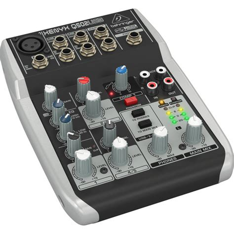 Behringer Xenyx Qusb Premium Input Bus Mixer
