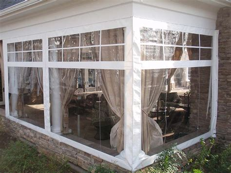 vinyl windows patio enclosure clear vinyl patio enclosure curtains by southern patio