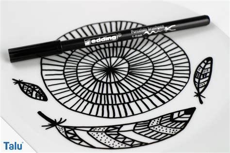 porzellan keramik bemalen anleitung und schoene ideen