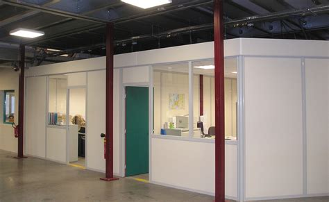cloison aluminium bureau nasal rayonnage galerie cloisons profil aluminium