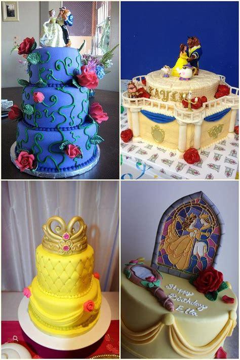 beauty   beast cakes ideas beauty   beast