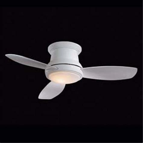52 quot low ceiling scoop fan 4 finishes ceiling fans by