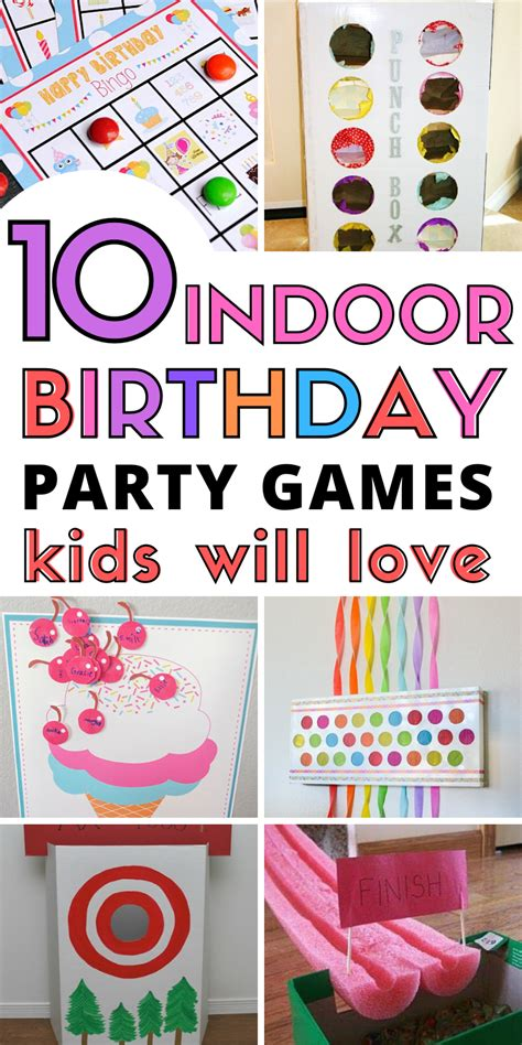 10+ Indoor Birthday Party Games Kids Will Love This Tiny