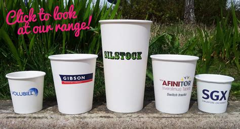 With a disposable coffee cup, it is critical that the branding makes a great impression. Disposable Paper Cup Sizes