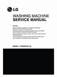 Lg F1695rdh Service Manual  U2014 View Online Or Download