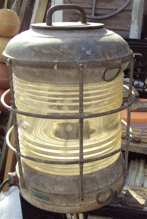 Perko Marine Lamp   Recycling the Past   Architectural Salvage