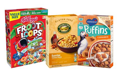 the healthiest and unhealthiest breakfast cereals