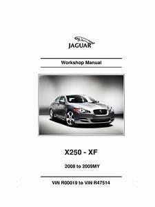 2008 Xf Workshop Manual