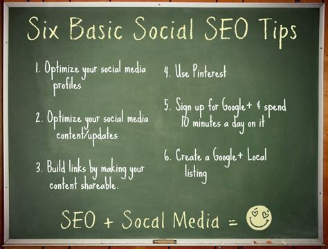 Seo Tips by 5 Uncomplicated Social Seo Tips For Small Businesses