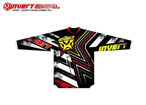 design jersey motocross invert mx mtb bmx dh race jerseys 2013 on behance
