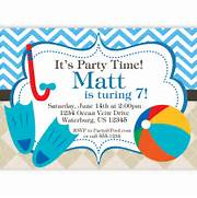 Pool Invitation Blue Chevron And Tan Argyle By PurpleBerryInk Swimming Party Invitations Template Best Template Collection Girl Pool Birthday Party Invitation Template Quotes Free Adult Pool Party Invitations Printable Invites For 39 Grown Up