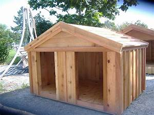 Diy dog house for beginner ideas for 2 large dog house