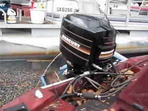 Mercury 60 Hp  Outboard With Tilt And Trim