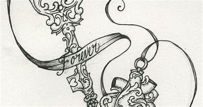 Locket Drawings Lockets Antique Keys