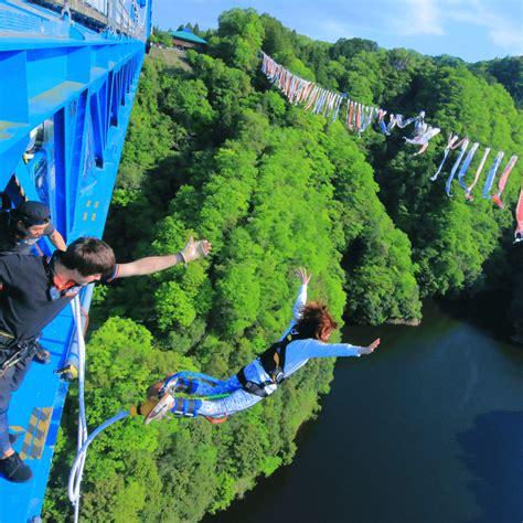best bungee jumping 3 best bungee jump spots near tokyo japan travel guide