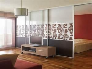 Wohn Schlafzimmer In Einem Raum : 42 kreative raumteiler ideen f r ihr zuhause ~ Markanthonyermac.com Haus und Dekorationen