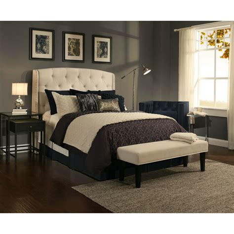 Headboard Upholstered by Republic Design House Peyton Ivory Tufted Upholstered