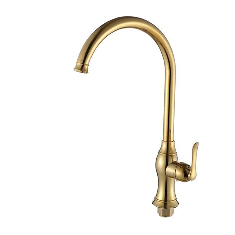 Brass Faucet Kitchen by Luxury Kitchen Faucets Gooseneck Polished Brass Vessel