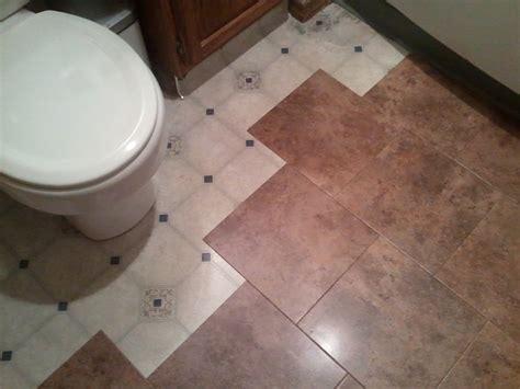 How To Install Vinyl Tile Flooring In Bathroom Tile