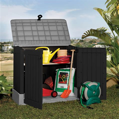 keter woodland midi storage box keter m 252 lltonnenbox store it out midi f 252 r 2x120 liter