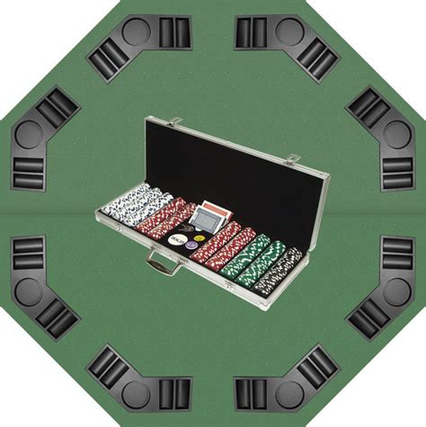 poker table and chips set 500 11 5g poker chip set and poker table top superset by