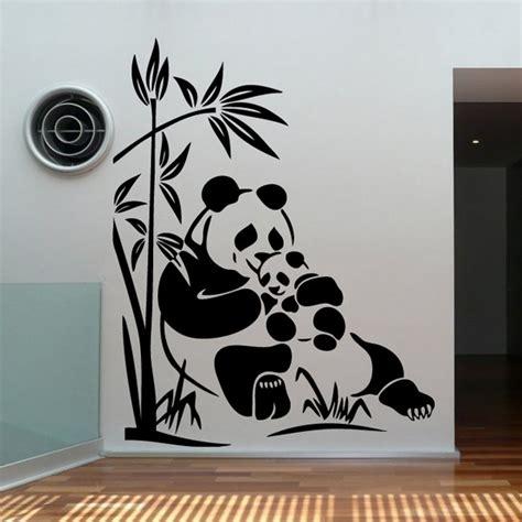 familia panda vinilos decorativos