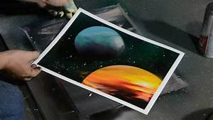 How to Paint Planets with Spray Paint - Quick and Easy ...