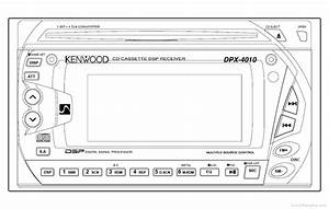 Kenwood Dpx-4010 - Manual - Car Cd Cassette Dsp Receiver