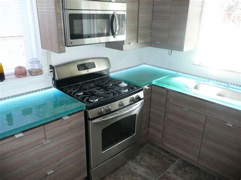 glass kitchen countertops underlit glass cbd glass
