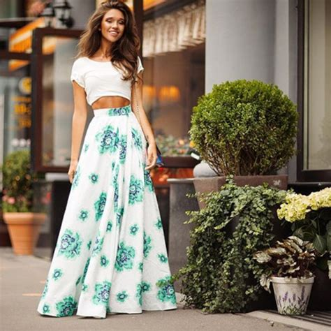 75 Loose Maxi Skirt Outfit For Girls
