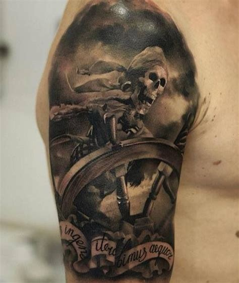 Awesome Skull Tattoo  Cool Tattoos  Pinterest Awesome
