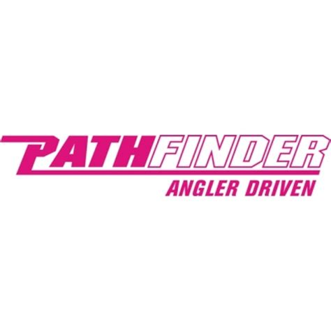 Pathfinder Boats Decals by Pathfinder Angler Driven Boat Logo Decals