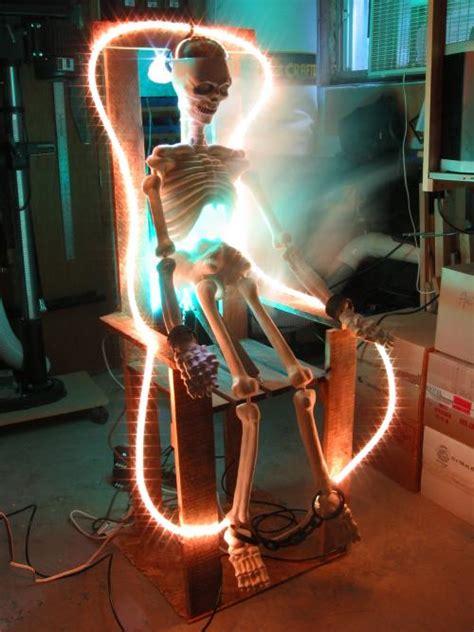skeleton  electrocuted  mark cseles porch