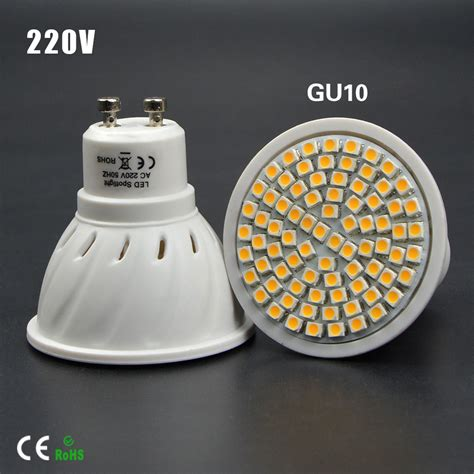 1pcs watt 6w 8w gu10 led bulb l heat resistant