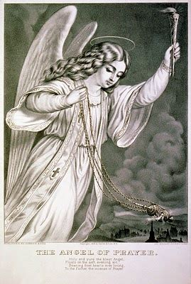 vintage clip art angel print  graphics fairy