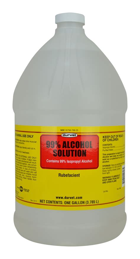 alcohol solution durvet