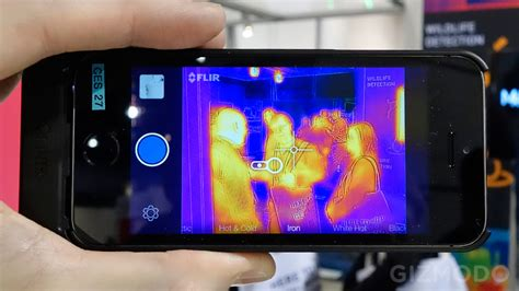 iphone flir flir just turned your iphone 5 into a predator like