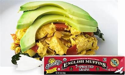 Breakfast Vegan Kale Tofu Sandwiches Sandwich Muffin