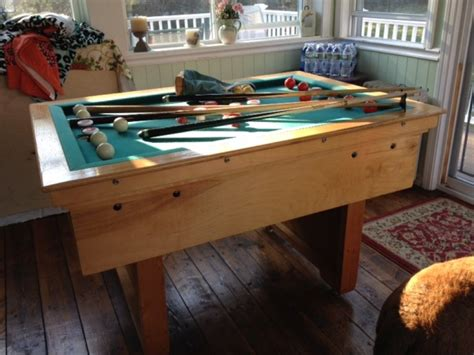 buy used bumper pool table slate bumper pool table massachusetts mansfield games