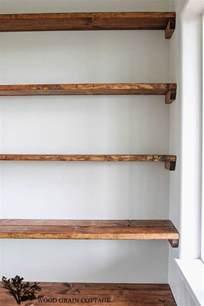 bathroom shelf ideas diy shelves 18 diy shelving ideas