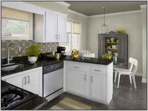 what color white for kitchen cabinets kitchen colors white cabinets black countertops painting 9626