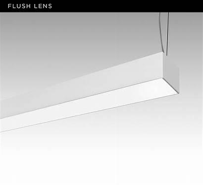Flush Indirect Drop Extruded Aluminum Beams Linia