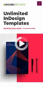 Unlimited Downloads Of The Best Indesign Templates  In