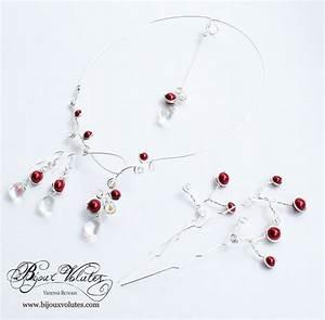 bijoux mariage rouge bordeaux collier mariage rouge avec With bijoux mariage rouge