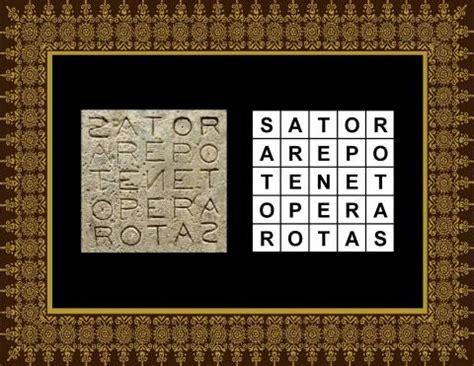Rotas-Sator Magic Square   Light Force Network