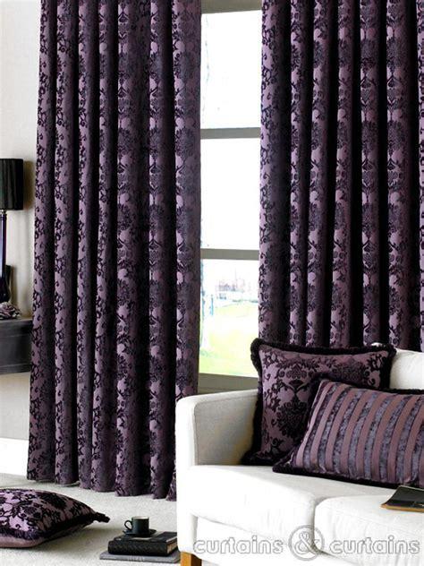 dulux luxury heavy thick cut velvet damson purple pencil