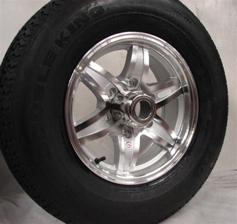 6 Lug Boat Trailer Tires by Purchase 15 Quot 6 Lug Aluminum Trailer Wheel With Tire Sw004