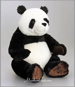 Grosse Peluche Panda : peluche panda 30cm les peluches keel toys du tr s haut de gamme et un r alisme surprenant ~ Teatrodelosmanantiales.com Idées de Décoration